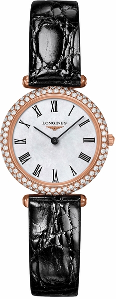 Longines La Grande Classique Diamond Bezel Luxury Women's Watch L4.307.9.81.0