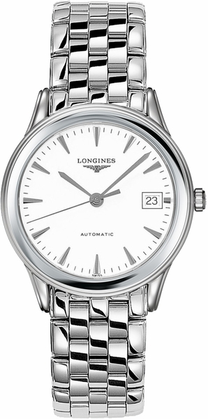 Longines Flagship White Dial Men's Watch L4.774.4.12.6