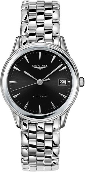Longines Flagship Black Dial Men's Watch L4.774.4.52.6