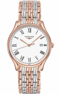 Longines Lyre Quartz Two Tone Women's Watch L4.759.1.11.7