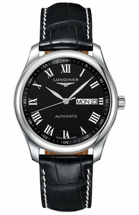 Longines Master Collection Black Dial Men's Watch L2.755.4.51.7
