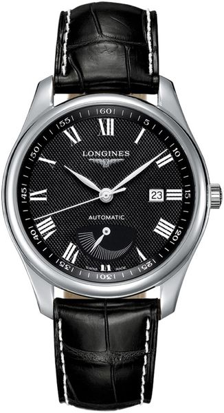 Longines Master Collection Black Dial Men's Watch L2.908.4.51.7