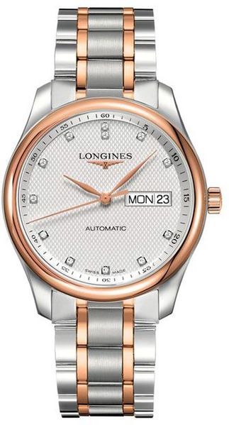 Longines Master Collection Diamonds Men's Watch L2.755.5.97.7