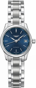 Longines Master Collection Automatic Blue Dial Women's Watch L2.128.4.92.6