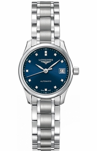 Longines Master Collection Blue Dial Women's Watch L2.128.4.97.6