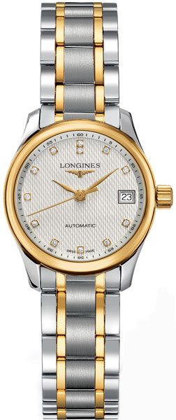 Longines Master Collection Diamond Dial Luxury Women's Watch L2.128.5.77.7