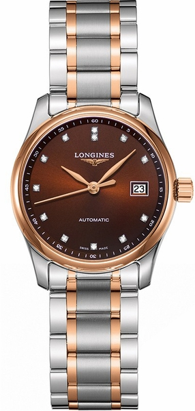 Longines Master Collection Bronze Dial Women's Watch L2.257.5.67.7