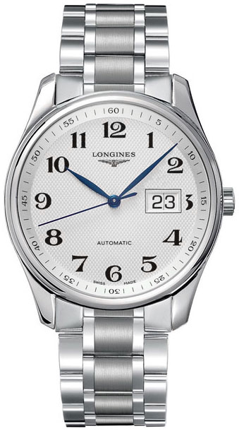 343d7aacbba L2.648.4.78.6 Longines Master Collection Mens 40mm Steel Automatic ...