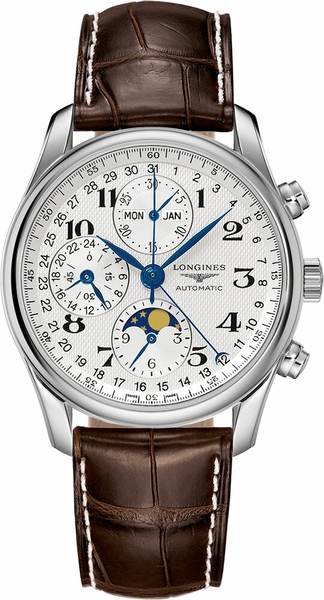 Longines Master Collection Moon Phase Men's Watch L2.673.4.78.3