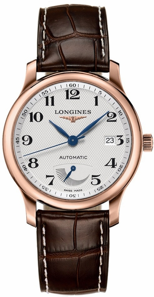 Longines Master Collection Solid 18k Rose Gold Men's Watch L2.708.8.78.3