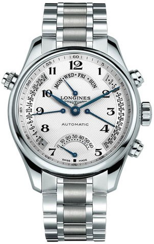 Gmt Auto Sales >> Longines Master Men Auto Stainless Steel Watch L2.715.4.78 ...