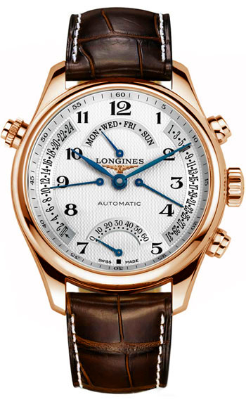 Longines Master Collection Solid 18k Rose Gold Men's Watch L2.715.8.78.3