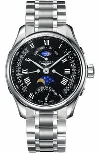 Longines Master Collection Black Dial Men's Watch L2.739.4.51.6