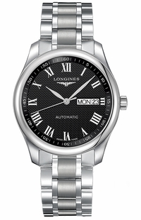 Longines Master Collection Black Dial Men's Watch L2.755.4.51.6