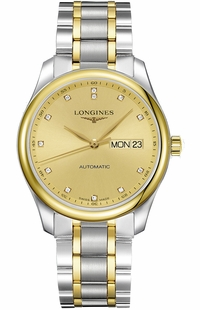 Longines Master Collection Diamond Dial Men's Watch L2.755.5.37.7