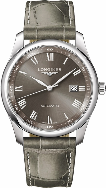 Longines Master Collection Sunray Grey Dial Men's Automatic Watch L2.793.4.71.3