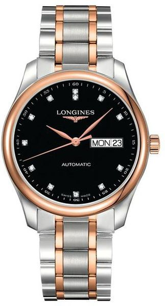 Longines Master Collection Rose Gold & Steel Men's Watch L2.755.5.59.7