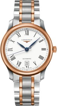 Longines Master Collection White Dial Men's Watch L2.628.5.19.7