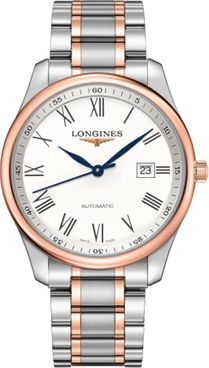 Longines Master Collection White Dial Men's Watch L2.893.5.11.7