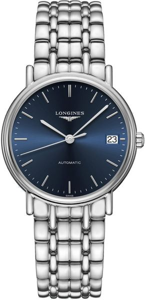 Longines Presence Blue Dial Women's Watch L4.821.4.92.6