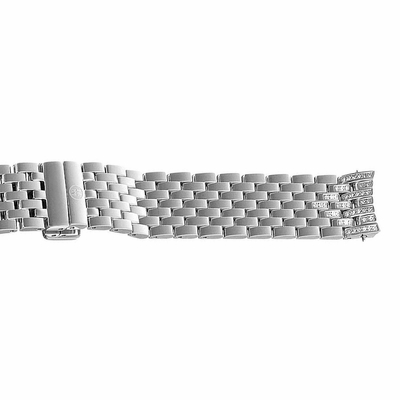 Michele 16mm Stainless Steel Diamond Bracelet MS16FK235009