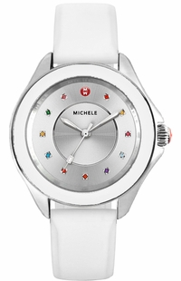 Michele Cape Silver Dial Women's Watch MWW27A000007
