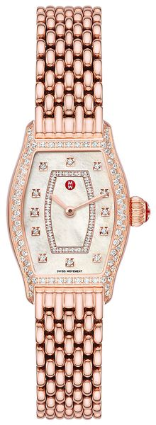 Michele Coquette Rose Gold Diamond Women's Watch MWW08A000243