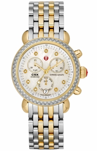 Michele CSX Signature Diamond Ladies Luxury Watch MWW03M000158