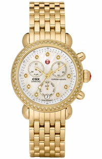 Michele CSX Signature Diamond Women's Watch MWW03M000141