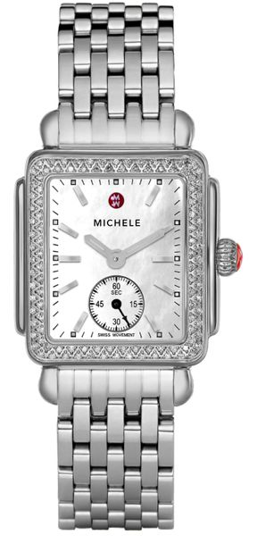 Michele Deco Mid Diamond Women's Watch MWW06V000001