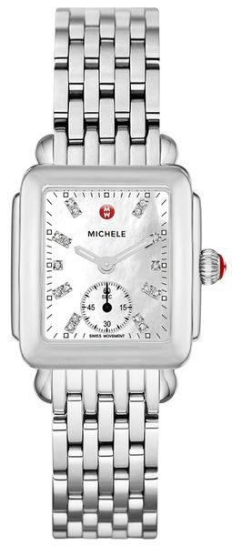 Michele Deco Mid Diamond Dial Women's Watch MWW06V000002