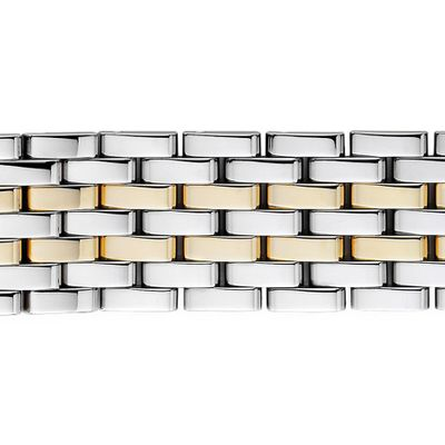 Michele Deco 18mm Two-Tone Bracelet MS18AU285048