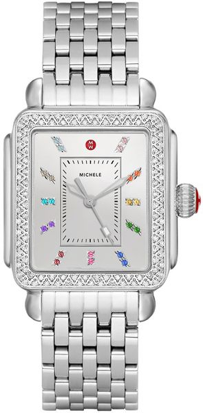 Michele Deco Carousel Dial Diamond Women's Watch MWW06P000295