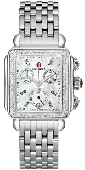 Michele Deco Diamond Women's Watch Sale MWW06P000099