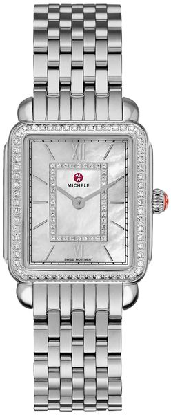 Michele Deco II Mid Women's Diamond Watch MWW06I000001