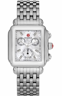 Michele Deco Luxury Diamond Women's Watch on Sale MWW06P000014
