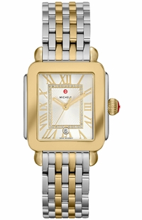Michele Deco Madison Mid Two-Tone Women's Watch MWW06G000013