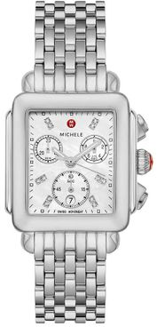 Michele Deco Mother of Pearl Women's Watch MWW06A000778