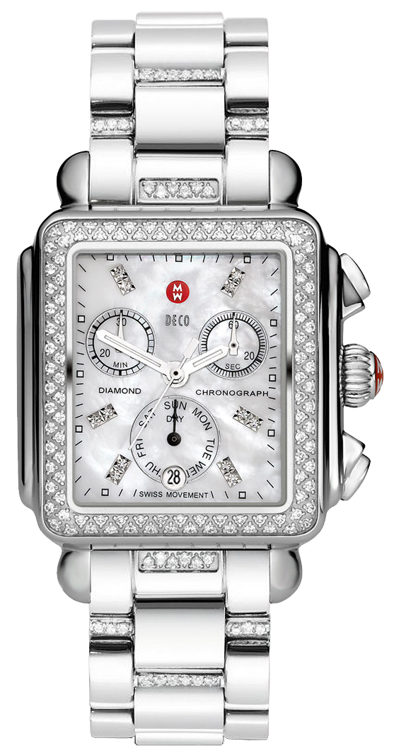 Michele Signature Deco Mop Diamond Dial Mww06p000103 3