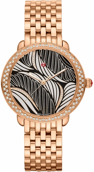 Michele Serein Limited Production Diamond Dial Ladies Watch MWW21B000091