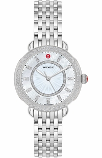 Michele Sidney Classic Diamond Women's Watch MWW30B000001