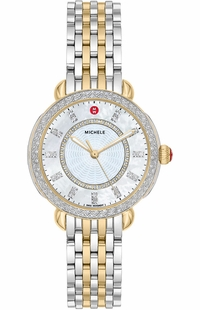 Michele Sidney Classic Two-Tone Women's Watch MWW30B000002