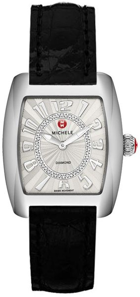 Michele Urban Mini Silver Guilloche Dial Women's Watch MWW02A000585