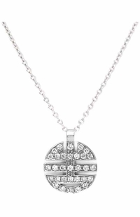 Mimi Milano 18k White Gold Diamond Women's Pendant P375B8B-92