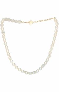 Mimi Milano Pearl 18k Yellow Gold Necklace C023A01-179