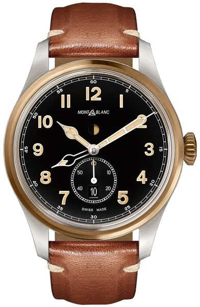 MontBlanc 1858 Automatic Dual Time Men's Watch 116479