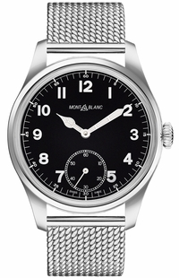 MontBlanc 1858 Manual Small Seconds Men's Watch 112639