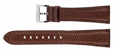 MontBlanc 18mm Brown Leather Strap MB18BRNLT