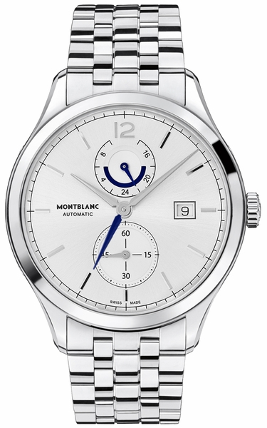 MontBlanc Heritage Silver Dial Men's Watch 112648