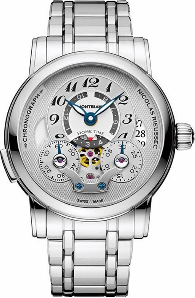MontBlanc Nicolas Rieussec Chronograph Automatic Men's Luxury Watch 107068